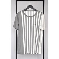 ユニセックスTシャツ/ストライプデザイン
