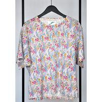 フラワービッグTシャツ