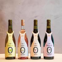 イタリア・ナチュール(自然派)ワイン 4本セット(50%OFF) I-ORZPC1911/I-ORZPA1911/I-ORZPL1911/I-ORZPM1911