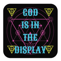【応援SALE!】「GOD IS IN THE DISPLAY」ハンドタオル