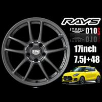 RAYS TBR ITARU010S 17inch 7.5j+48 4本セット特別価格