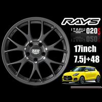 RAYS TBR ITARU020S 17inch 7.5j +48 4本セット特別価格