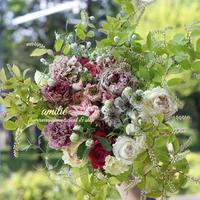 季節の花のおまかせ花束grand