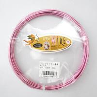 天使のワイヤーカラー(2.5mm/10m)《ピンク/パープル》
