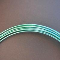 カラーアルミワイヤーBタイプ100g巻き《エメラルドグリーン》