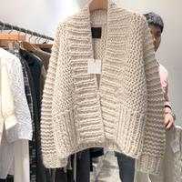 ★soldout★Vネック レトロニットセーター ma011