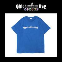 【9bic 1'st Anniversary Live 〜現在を生きる王子様達の物語〜】official tee(blue)