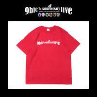 【9bic 1'st Anniversary Live 〜現在を生きる王子様達の物語〜】official tee(red)