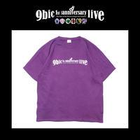 【9bic 1'st Anniversary Live 〜現在を生きる王子様達の物語〜】official tee(purple)