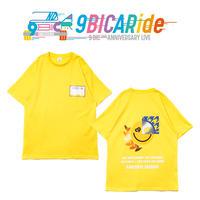【9bic 2nd Anniversary Live -9BICARide-】2ND ANNIVERSARY TEE(イエロー)
