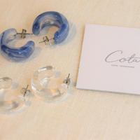 clear hoop pierce