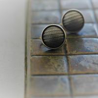 Herringbone earring