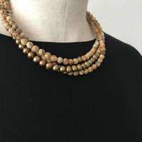 Autum jasper necklace