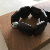 Ebony bracelet 【14.5~15㎝】  ※おサイズ直し不可です。
