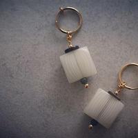 Summer square earring