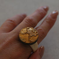 Gold ring【size:12.5~13】