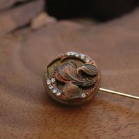 Botanical pin【hat pin type】