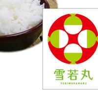 ※10kg以上はこちら【令和元年産】 山形県産 有機栽培米 雪若丸(精米)