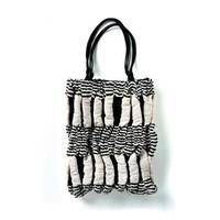 kibiso スウィングバッグ 「風通 縞と筋」
