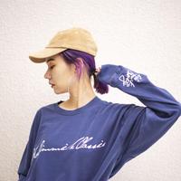 "【L/S T-shirt】""LOGO"" L/S T-shirt (VINTAGE  STYLE / 3 COLORS)  / No Gimmick Classics"