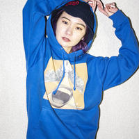 "【Hoodie】""vandaism Jacket"" Hoodie (BLUE) / No Gimmick Classics"