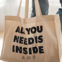 INSIDE BAG -WHITE-