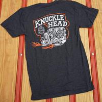 Knucklehead Tee / ナックルヘッドTeeシャツ / ローレンスビンテージサイクル BG コラボTee