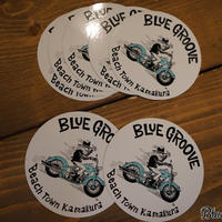 BLUE GROOVE 'UNCLE DAVE' デカール
