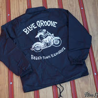 BLUE GROOVE / UNCLE DAVE / コーチジャケット/ ブラック