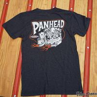 Panhead Tee / パンヘッドTeeシャツ / ローレンスビンテージサイクル BG コラボTee / ブラック