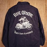 BLUE GROOVE コーチジャケット/ ネイビー