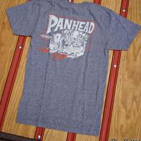 Panhead Tee / パンヘッドTeeシャツ / ローレンスビンテージサイクル BG コラボTee / グレー