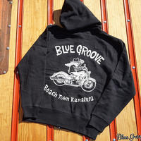 BLUE GROOVE / UNCLE DAVE / ZIP UP / ブラック