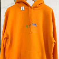 【訳あり特価】Rainbow LOGO Hoodie XL [orange]