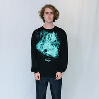"""GRAPHIC LONG T-SHIRTS""""HOPE"""""""
