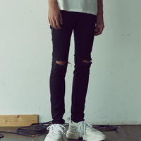 DAMAGE SKINNY PANTS