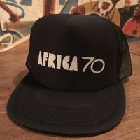 AFRICA70メッシュキャップ ブラック