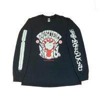 楽園ロングスリーブTシャツ[ブラック]