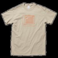 ツイン アンプイラストTシャツ[サンド]