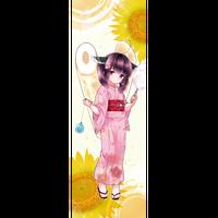 2019 東北きりたん 浴衣布ポスター
