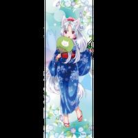 2019 東北イタコ 浴衣布ポスター