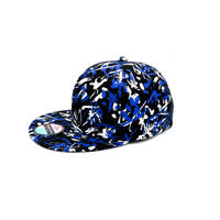 SYODO CAMOUFLAGE CAP: BLUE