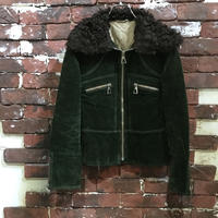 LADIES CORDUROY BOA JACKET