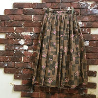VINTAGE LADIES COTTON SKIRT