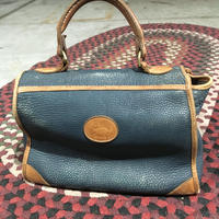 DOONEY & BOURKE LEATHER BAG  GRN×NRL