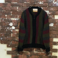 70S ZIP UP KNIT
