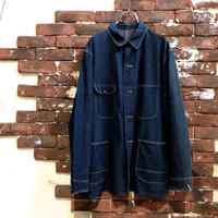 50-60s BIG and TUF DENIM COVERALL