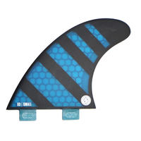 "SHAPERS FIN ""S3"" TRI FIN SET"