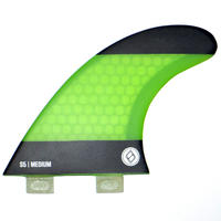 "SHAPERS FIN ""S5"" TRI FIN SET"