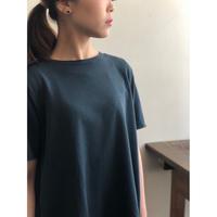 SIDE SLOPE/BOTANICAL DYE A-LINE T-Shirt